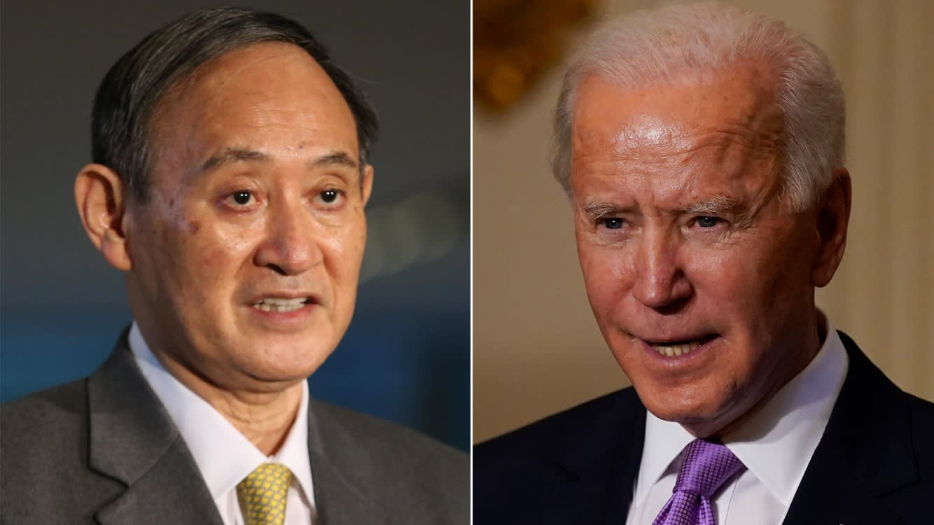 Biden and Suga reaffirm US commitment on Senkakus