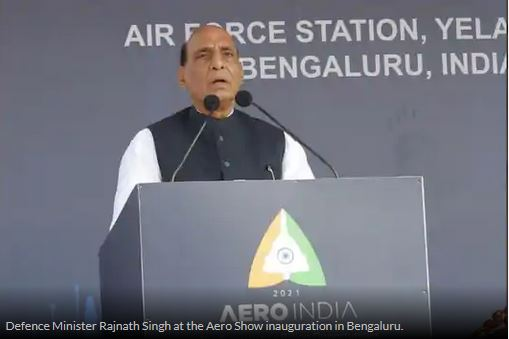 India to Spend $130 Billion on Military Modernisation, Says Rajnath Singh Amid Border Standoff with China