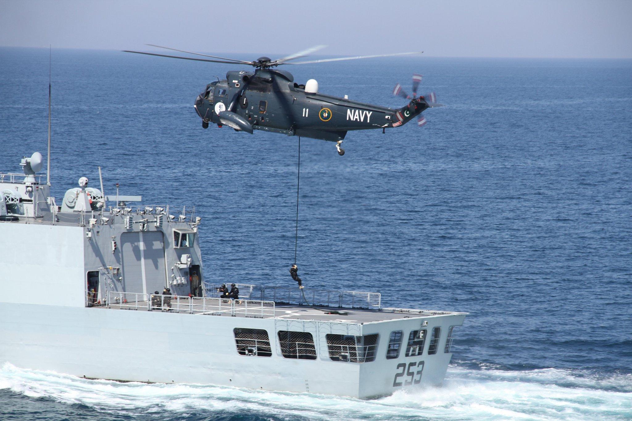 Pakistan's Naval Exercise Aman-21: More Rhetoric Less Substance