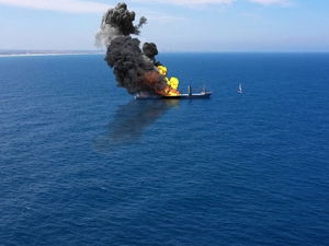 Explosion Strikes Israeli-Owned Ship in Middle East Amid Tension