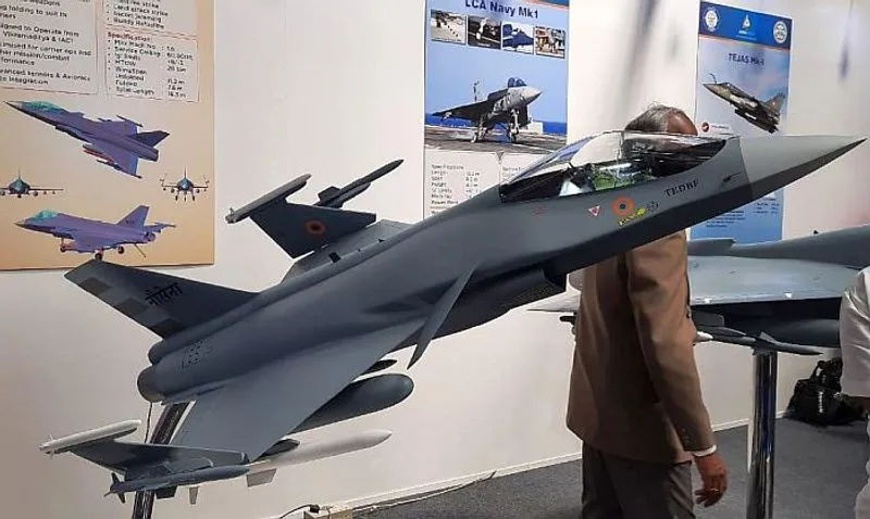 India Designing New Twin-Engine Deck-Based Fighter Jet