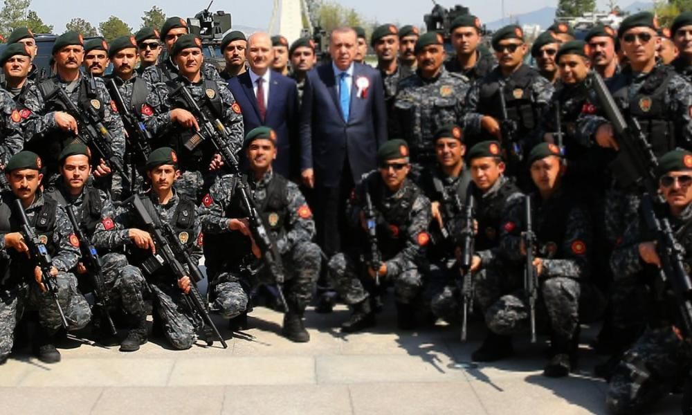 Erdogan's SADAT Paramilitary Mercenaries Prepare to Attack India's Kashmir