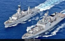 Indian and Indonesian Navies Conduct Exercise in Arabian Sea