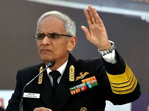 Navy Chief Admiral Singh Reviews key Aspects of TROPEX Exercise