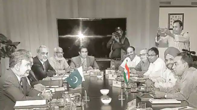 Pakistani Team Arrives For Meeting Of Permanent Indus Commission