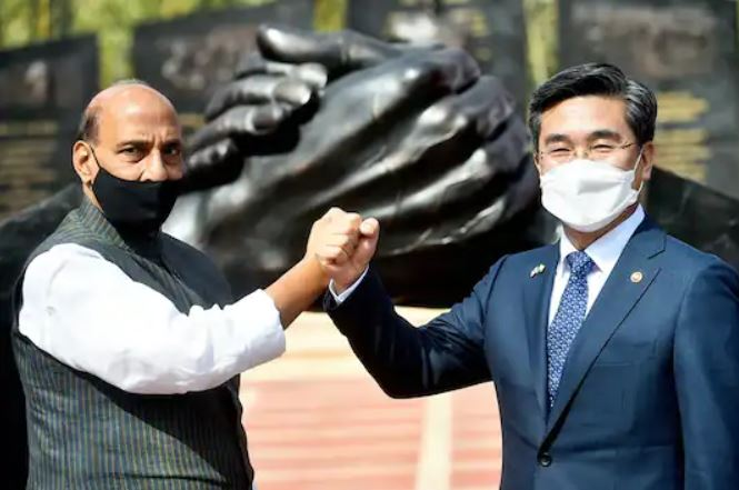India, South Korea Agree To Go For Joint Production, Export Of Military Hardware