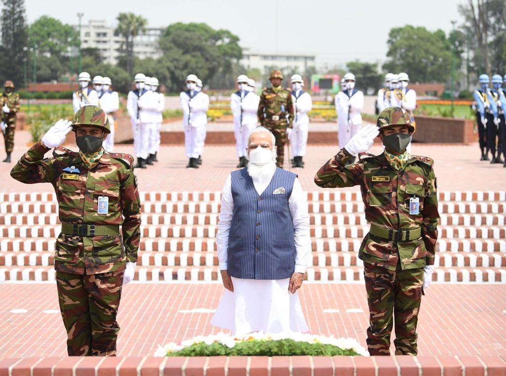 PM Modi Hails Bangabandhu's Leadership, Indian Army's Contribution In Bangladesh's Independence War