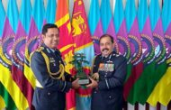 IAF Chief Attends SLAF's Anniversary Celebrations During Two-Day Visit To Sri Lanka