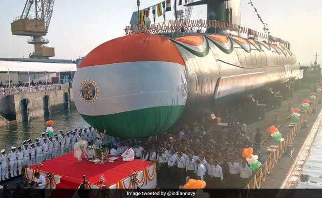 Navy To Commission 3rd Scorpene-Class Submarine INS Karanj On March 10