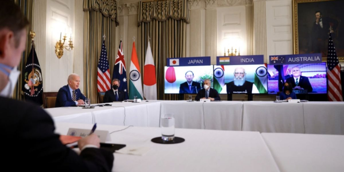 First Quad Summit: One Billion Vaccine Doses For Asia, Cooperation On Approach To China