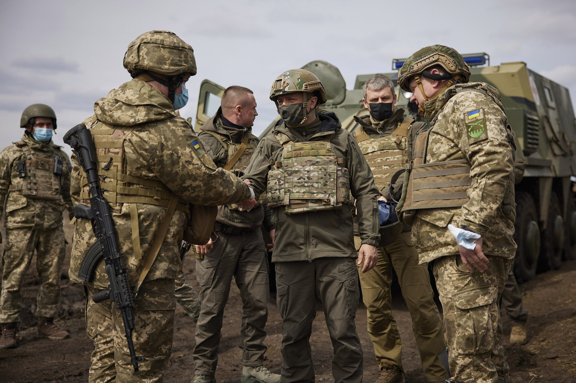 Ukraine Tells Russia To Pull Back As U.S. Warns Of Cost