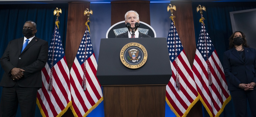 Biden's $715B Defense Ask: Higher Than Expected, Lower Than Trump's Plan
