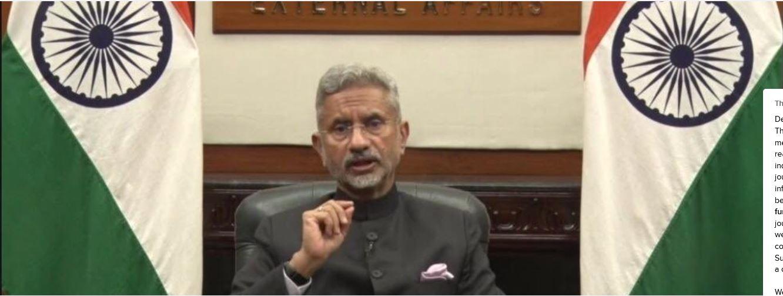 India Committed to Cooperation Under BIMSTEC Framework: S. Jaishankar