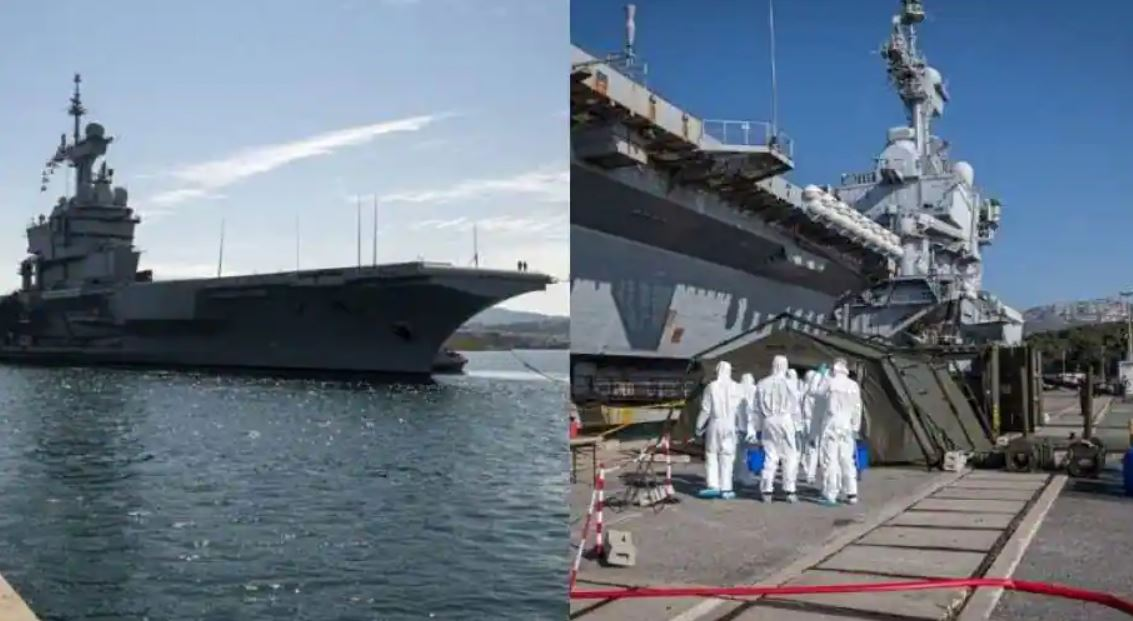 France To Join India's Indo-Pacific Oceans Initiative; Aircraft Carrier Charles De Gaulle To Exercise With Indian Navy
