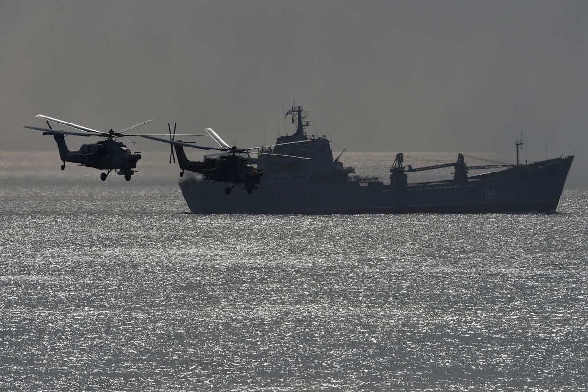 U.S. And Russia Are On A Collision Course In The Black Sea