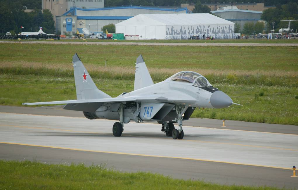 Russia's Latest MiG-35 Multirole Fighter At Final Stage Of Trials, Says Defense Contractor