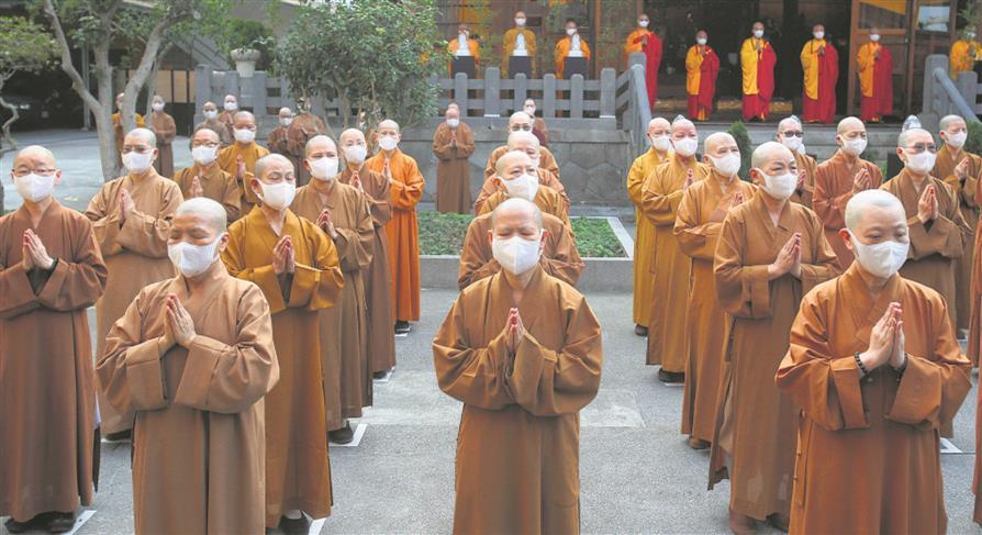 China's Buddhism card