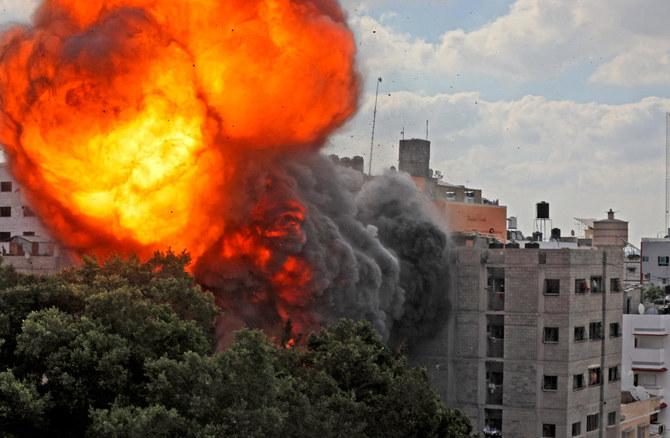 Gaza Death Toll Tops 100 As Israeli Air Strikes, Hamas Rocket Fire Continue