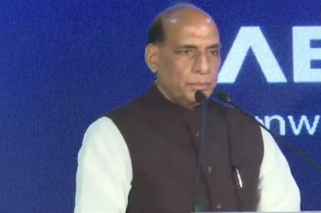 Rajnath Singh Reviews Covid-19 Relief Efforts Of Armed Forces Via Video Conferencing