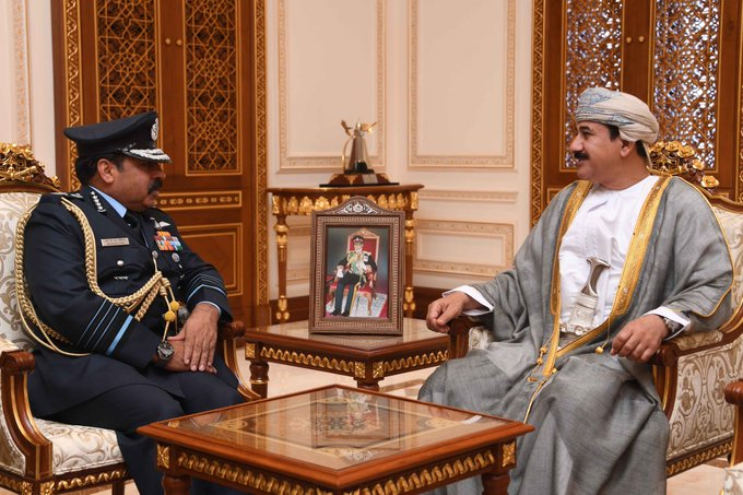 Royal Office Minister Receives Indian Military Official