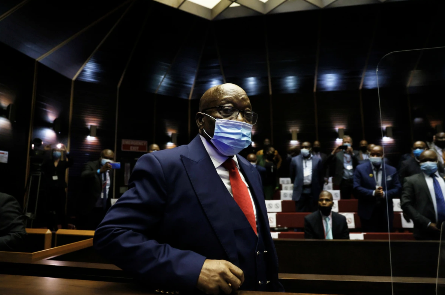 Former South African President's Trial Over Arms Deal Begins