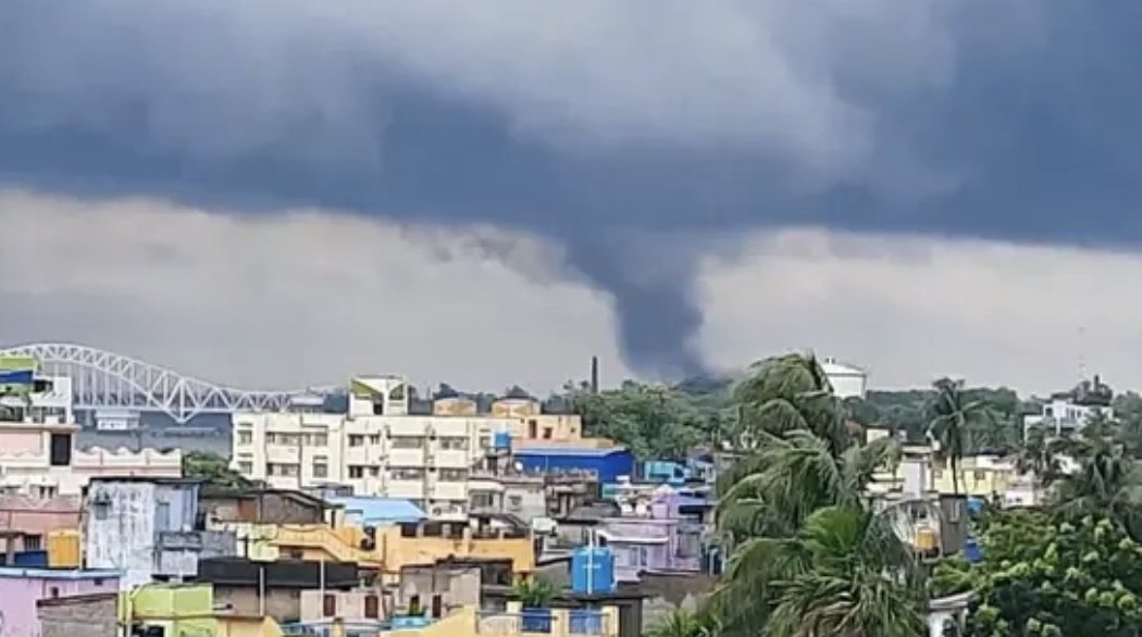 Cyclone Yaas Weakens into a Deep Depression Over Jharkhand