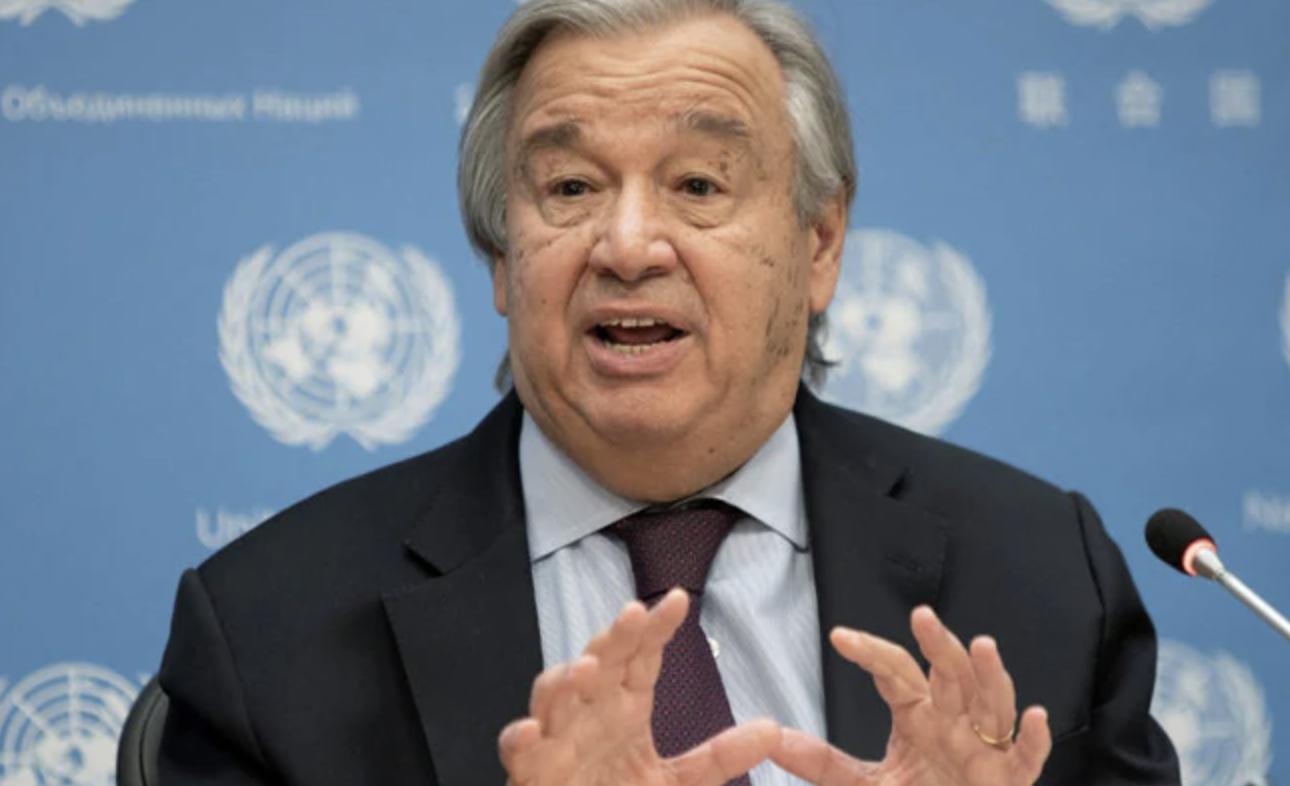 India Conveys Support to Antonio Guterres for Re-Election as UN Secretary-General