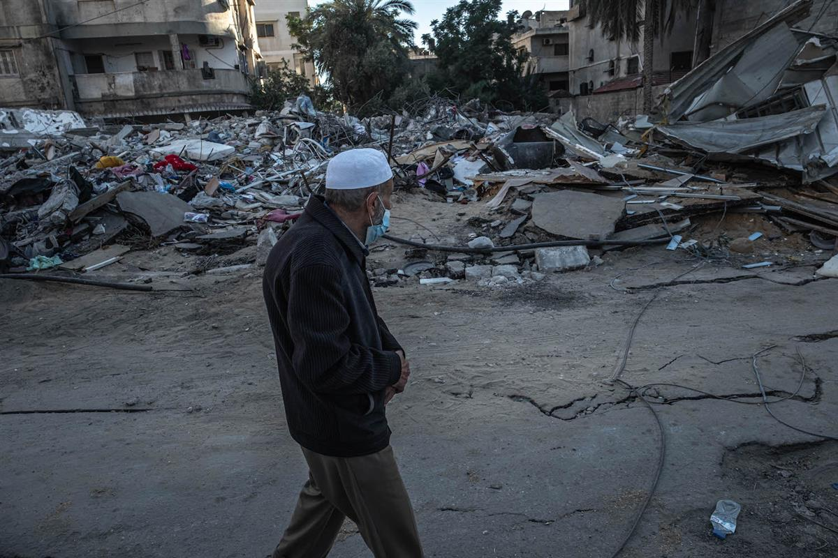 Cease-Fire Comes Closer In Israel-Gaza Conflict