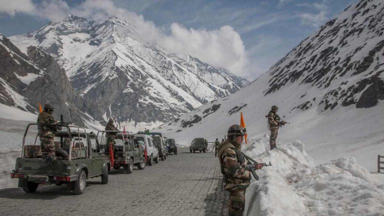 Soldiers Sit Tight In Ladakh Amid India's Covid Crisis, But Construction Activity Continues
