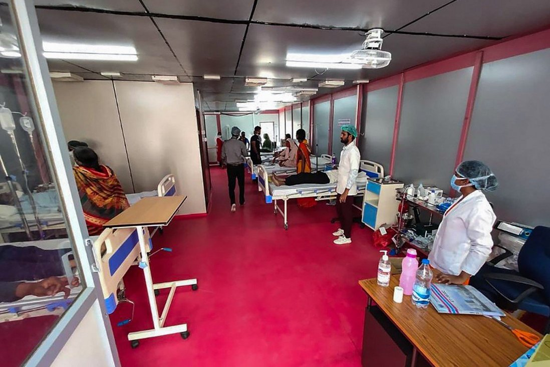 The US$140,000 Mobile Hospitals Helping India Fight Covid-19: 'All You Need is Electricity and Water'
