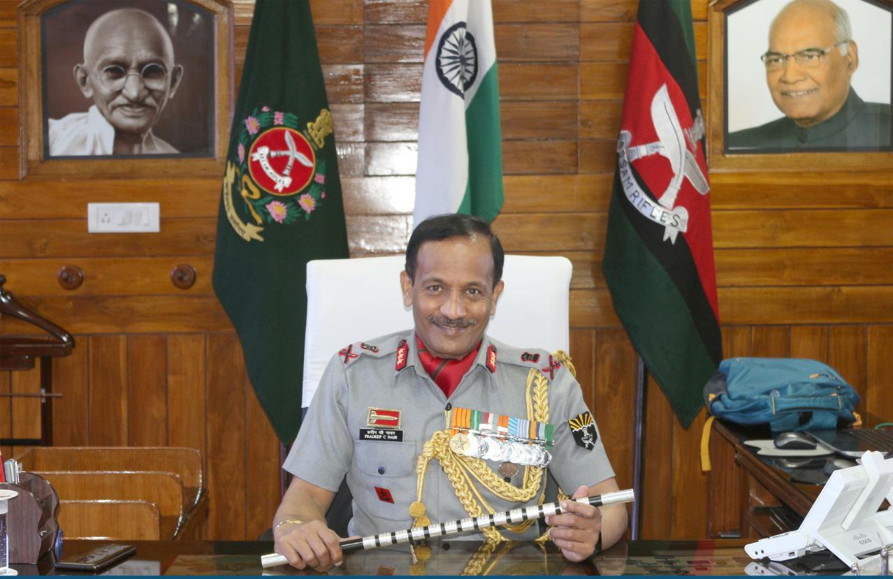 Change of Guard in Assam Rifles, Lt Gen Nair New DG