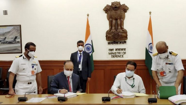 Defence Ministry Signs Rs 583-Cr Deal With Goa Shipyard To Procure 2 Pollution Control Ships