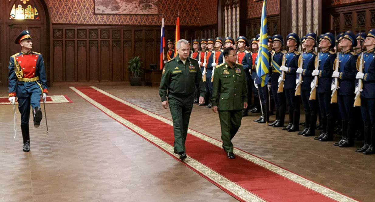 Myanmar Plans to Expand Military Cooperation With Russia, Commander-in-Chief Says