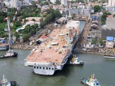 Defence Minister Rajnath Singh To Visit CSL On June 25 To Review Progress Of Indigenous Aircraft Carrier