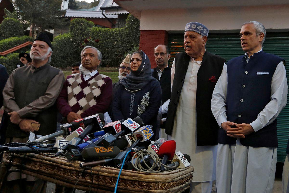 Kashmir Leaders To Urge India's Modi To Restore Region's Autonomy