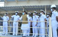 Defence Minister Reviews Project Seabird Progress At Karwar Naval Base