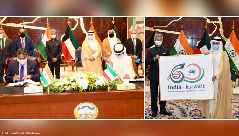 Jaishankar Interacts with Indian Community in Kuwait: 'Focus on New Areas of Cooperation'