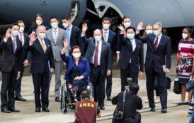 China Says US Senators Visiting Taiwan on Military Plane a 'Vile Provocation'