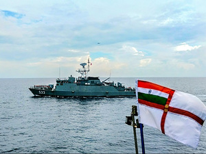 Navies of India, Thailand Begin Three-Day Coordinated Patrol in Andaman Sea