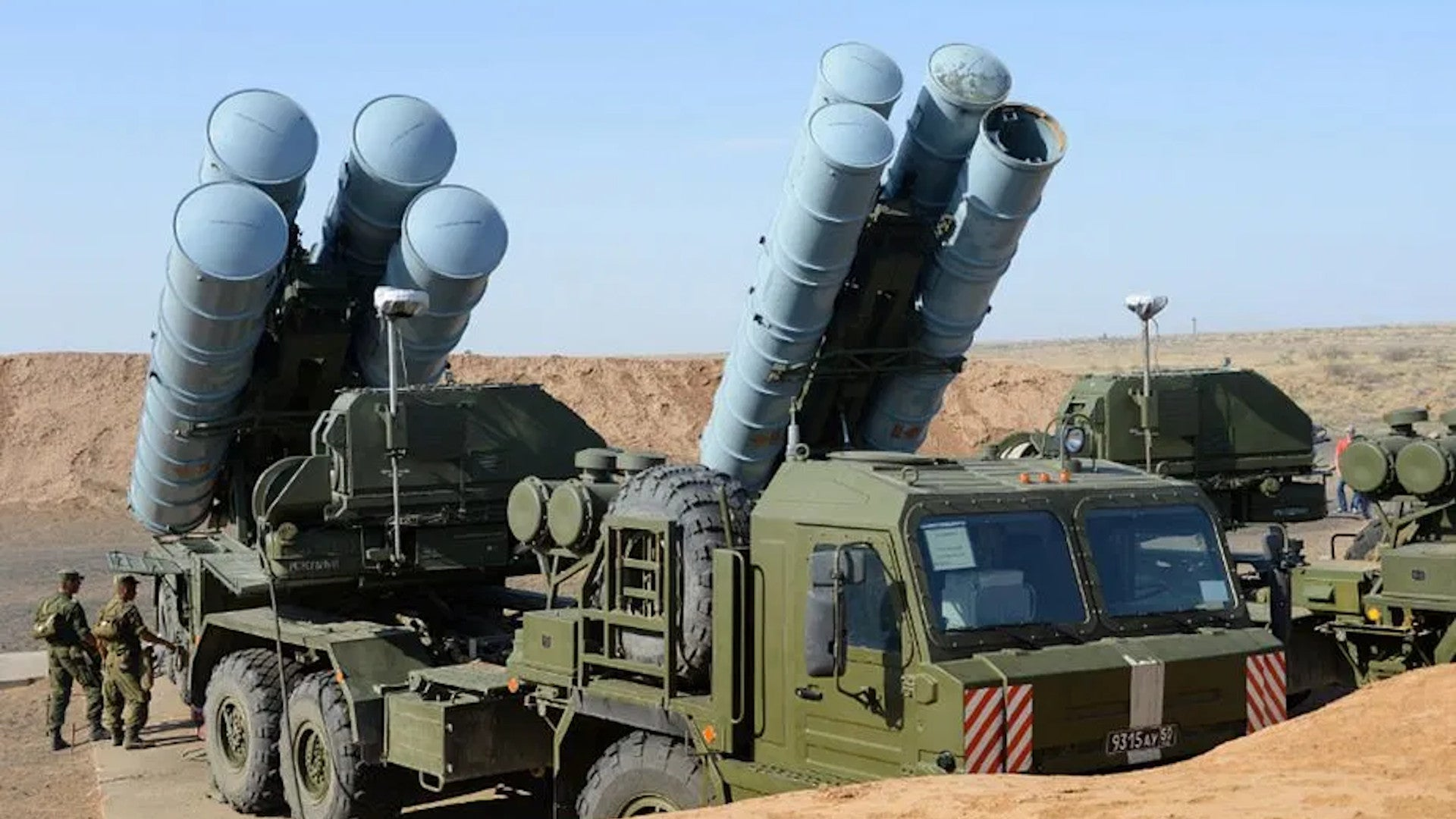 S-400 SAMs Knocked Out in Simulated Strikes During Big Army-Led Exercise in Africa