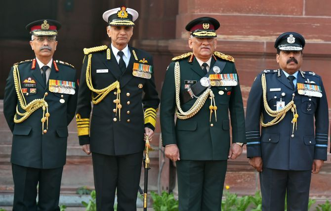 Top Brass to Discuss theatre Commands in Day-Long Session