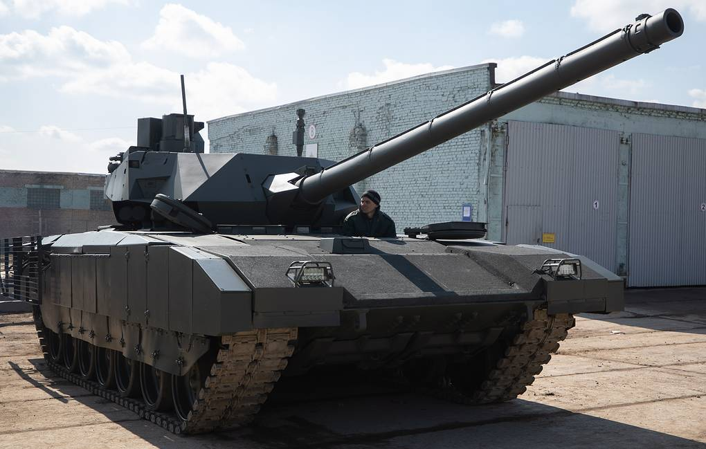 Russia To Launch Serial Production Of Breakthrough Armata Tank In 2022