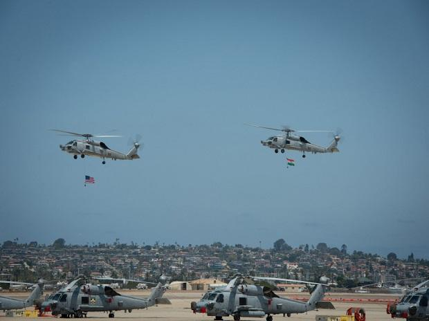 Boost For Navy As Delivery Of MH-60R Seahawk Multi-Role Helicopters Begins