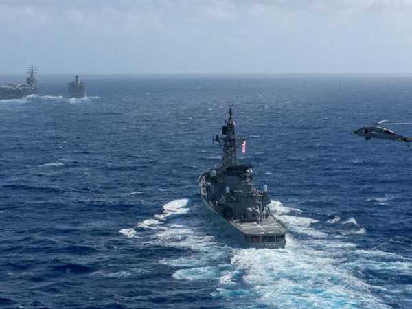 UK's Carrier Strike Group Enters Indian Ocean, to Conduct Wargame With Indian Navy