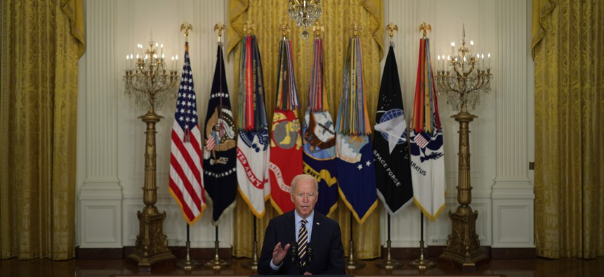 Afghans Own Whatever Comes Next, Biden Says