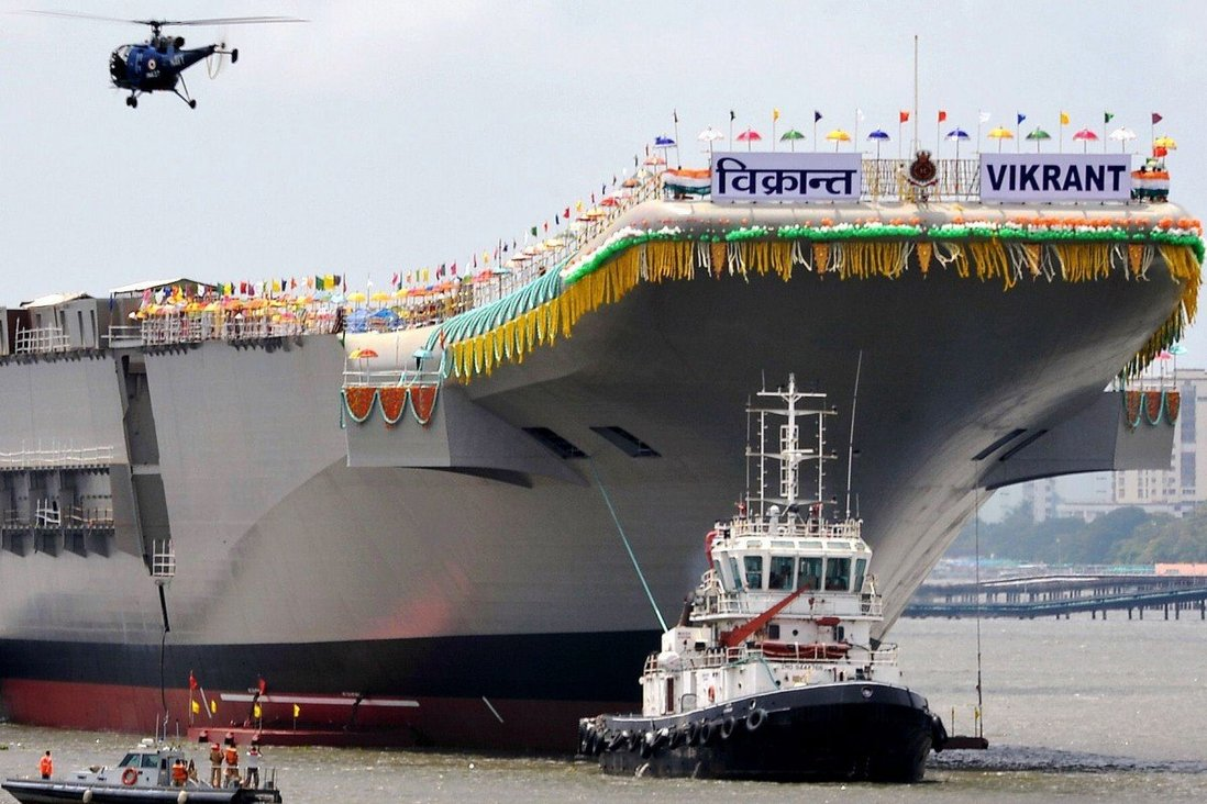 India's Second Aircraft Carrier INS Vikrant Has China In Its Sights