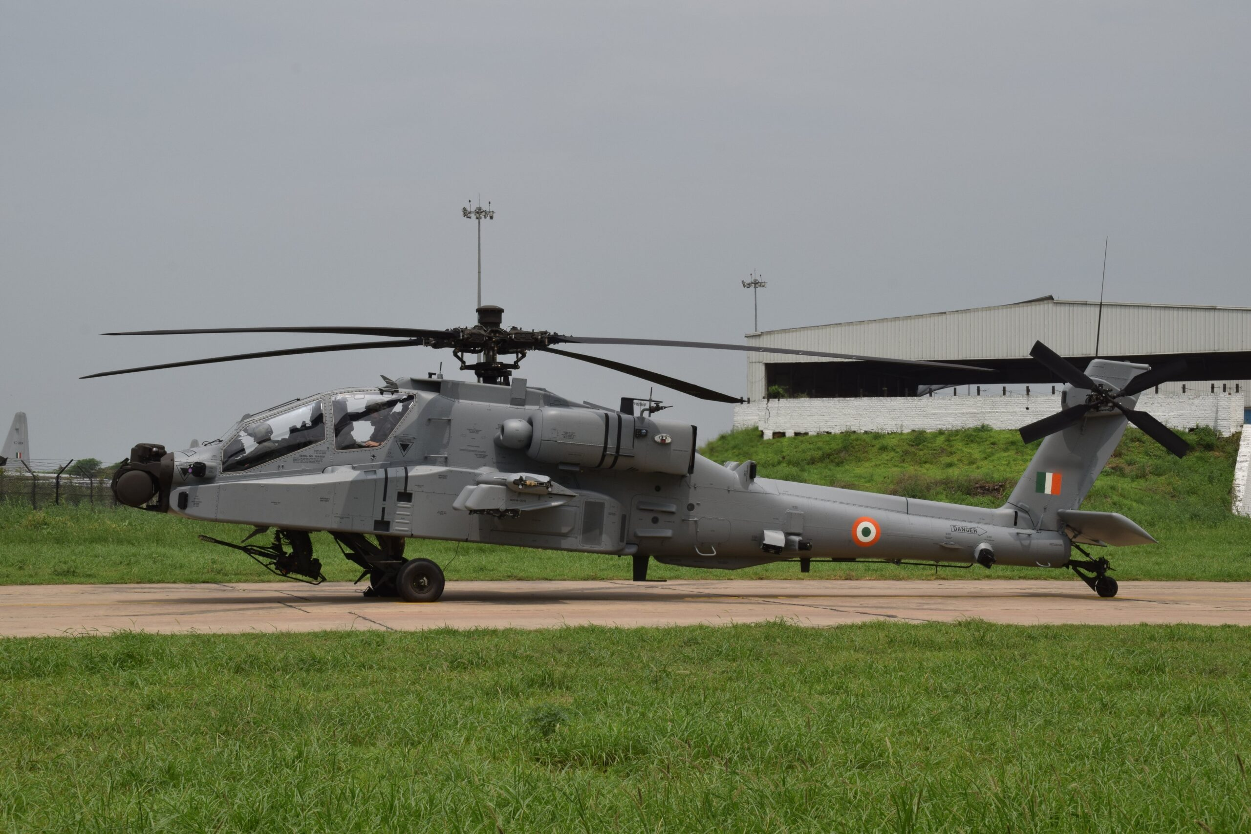 Made in India Fuselage for Apache Helicopters