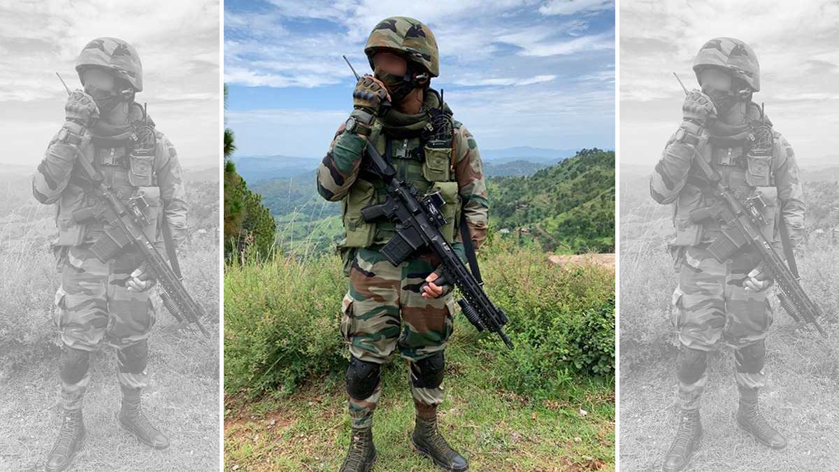 Army Uses 'Jugaad' to Turn the American SiG 716 into a Mean Rifle for Soldiers at LoC
