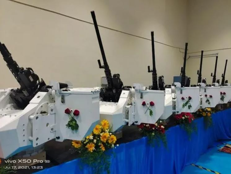 Ordnance Factory Tiruchirappalli Manufactures 25 Heavy Machine Guns For Indian Security Forces With Israeli Technology