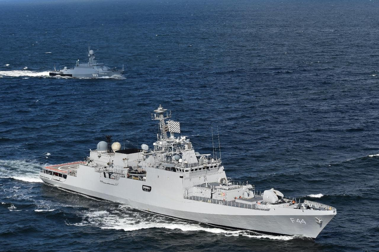 Indian, Russian Navies Conclude Exercise Indra Navy